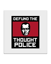 Defund the THOUGHT POLICE Square Coaster thumbnail