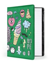Vector Art Large - Leather Notebook front