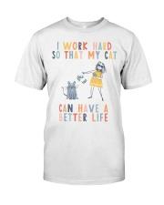 crazy cat lady  Classic T-Shirt thumbnail