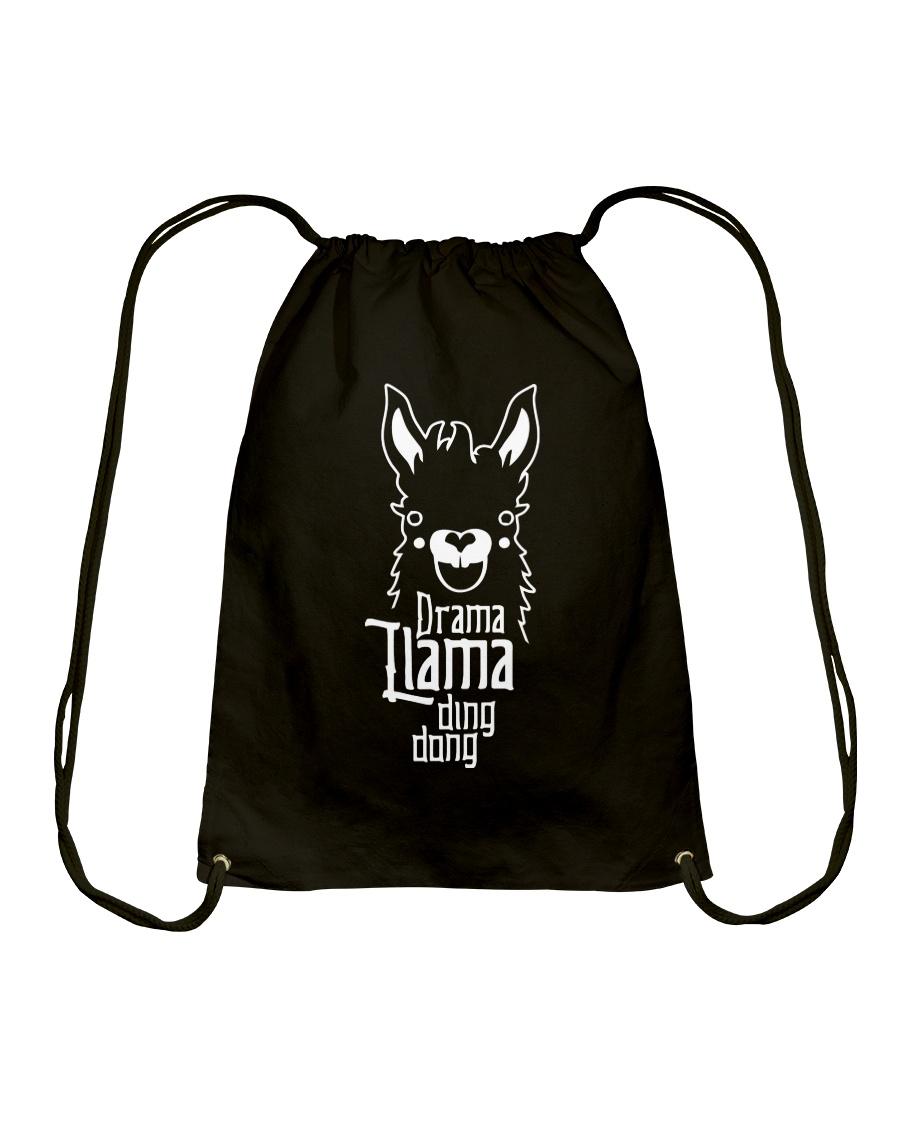 Mothers Day 2018 Shirt Gift Drama Llama Ding Dong Drawstring Bag