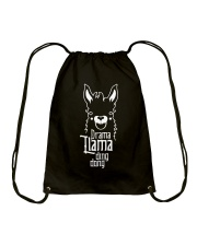 Mothers Day 2018 Shirt Gift Drama Llama Ding Dong Drawstring Bag front