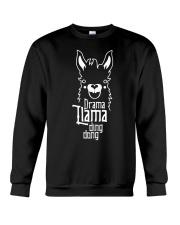 Mothers Day 2018 Shirt Gift Drama Llama Ding Dong Crewneck Sweatshirt thumbnail