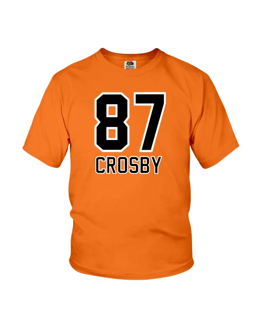 CROSBY 87 T-shirt mug-hoody-mask  Youth T-Shirt