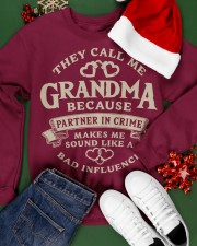 They call me Grandma because partner in crime Crewneck Sweatshirt apparel-crewneck-sweatshirt-lifestyle-front-21