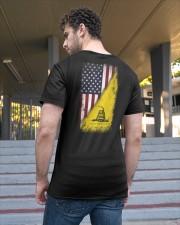 American Gadsden Flag Classic T-Shirt apparel-classic-tshirt-lifestyle-back-48