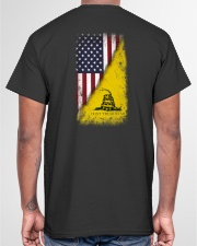 American Gadsden Flag Classic T-Shirt garment-tshirt-unisex-back-04