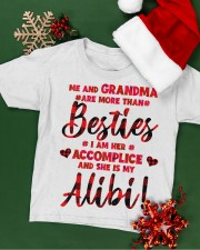 Me and Grandma are more than besties Youth T-Shirt apparel-youth-tshirt-lifestyle-front-02