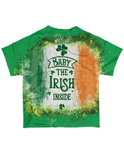 Baby The Irish inside Happy St Patrick's Day All-over T-Shirt back