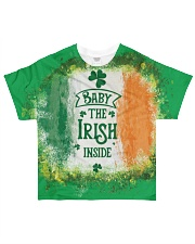 Baby The Irish inside Happy St Patrick's Day All-over T-Shirt front