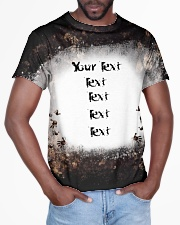 Your Text here bleached style All-over T-Shirt aos-all-over-T-shirt-lifestyle-front-03
