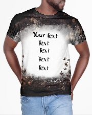 Your Text here bleached style All-over T-Shirt aos-all-over-T-shirt-lifestyle-front-04