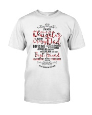 Perfect Daughter crazy Dad gift for daughter  Classic T-Shirt front