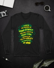 I live in the corner of funny street Long Sleeve Tee lifestyle-unisex-longsleeve-front-5