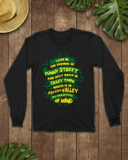 I live in the corner of funny street Long Sleeve Tee lifestyle-unisex-longsleeve-front-7