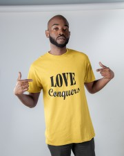 Love Conquers Classic T-Shirt apparel-classic-tshirt-lifestyle-front-32