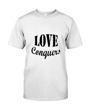 Love Conquers Classic T-Shirt tile