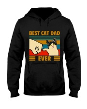 Best cat Dad Ever All clothing Hooded Sweatshirt front