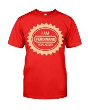 I am ferdinand von aegir Official widget Classic T-Shirt thumbnail