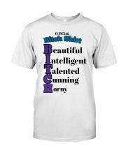 Official Bitch Shirt Beautiful Intelligent Talente Premium Fit Mens Tee thumbnail