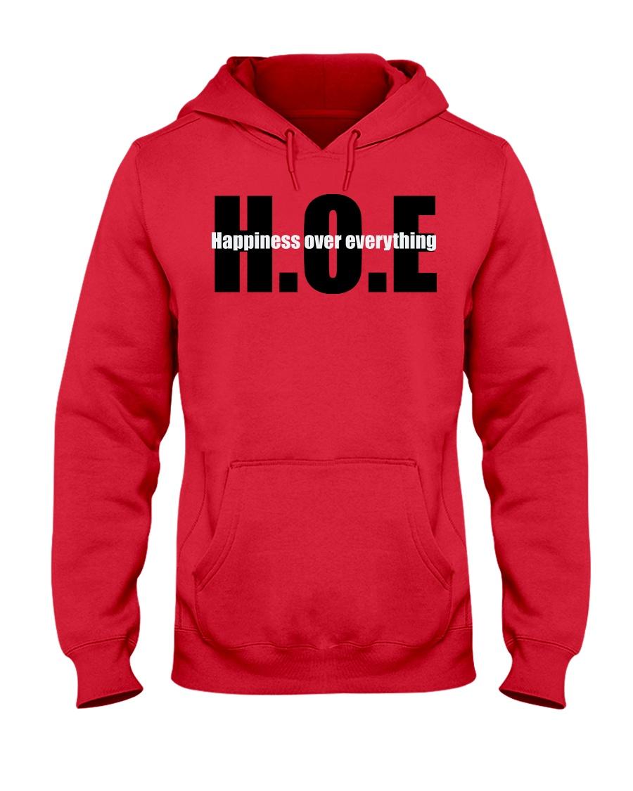 Happiness over everything  Hooded Sweatshirt