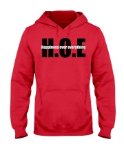 Happiness over everything  Hooded Sweatshirt front