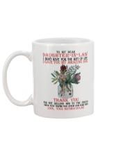 TO MY DEAR DAUGHTER Mug back