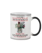 TO MY DEAR DAUGHTER Color Changing Mug thumbnail