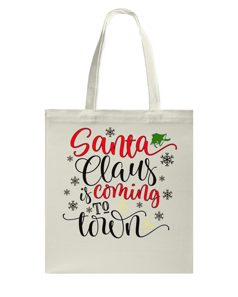 Santa is coming to town Tote Bag