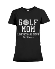 Mother - Golf Mom Like Normal Moms But Poorer Premium Fit Ladies Tee thumbnail