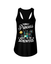 Forget Princess I Want To - Scientist Girl Science Ladies Flowy Tank thumbnail
