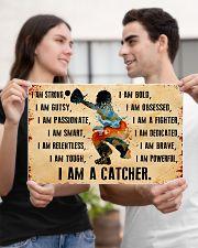 I AM A CATCHER 17x11 Poster poster-landscape-17x11-lifestyle-20