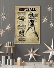 Love Softball 11x17 Poster lifestyle-holiday-poster-1