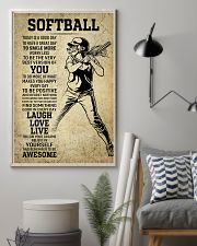 Love Softball 11x17 Poster lifestyle-poster-1