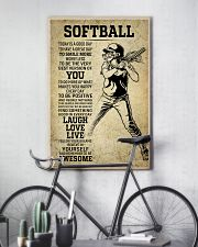 Love Softball 11x17 Poster lifestyle-poster-7