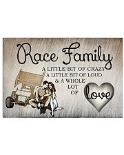 Sprint car Race Family 17x11 Poster front