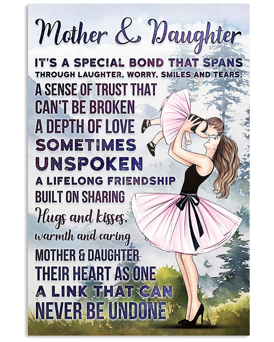 MOTHER AND DAUGHTER  11x17 Poster