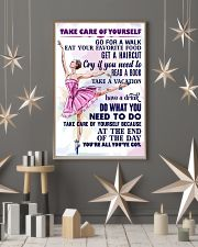 TAKE CARE OF YOURSELF  11x17 Poster lifestyle-holiday-poster-1