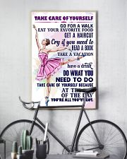 TAKE CARE OF YOURSELF  11x17 Poster lifestyle-poster-7