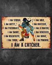 I AM A CATCHER 17x11 Poster poster-landscape-17x11-lifestyle-12
