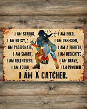 I AM A CATCHER 17x11 Poster poster-landscape-17x11-lifestyle-14