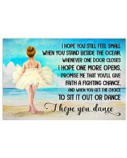 I HOPE DANCE  17x11 Poster front