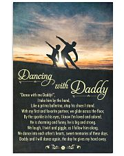 DANCING WITH DADDY  11x17 Poster front