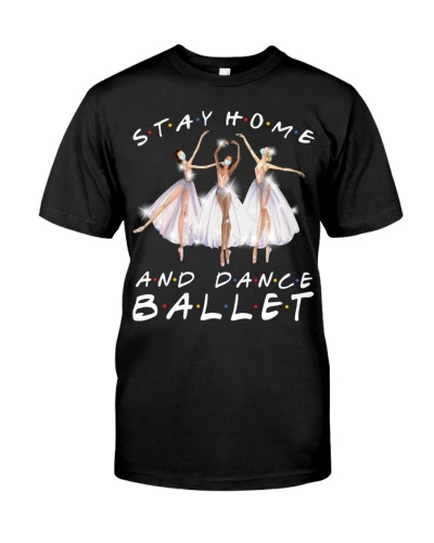 STAY HOME AND DANCE BALLET