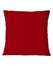 MERRY CHRISTMAS  Square Pillowcase back