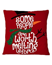 MERRY CHRISTMAS  Square Pillowcase front