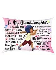 TO MY GRANDDAUGHTER GRAMMIE Rectangular Pillowcase front