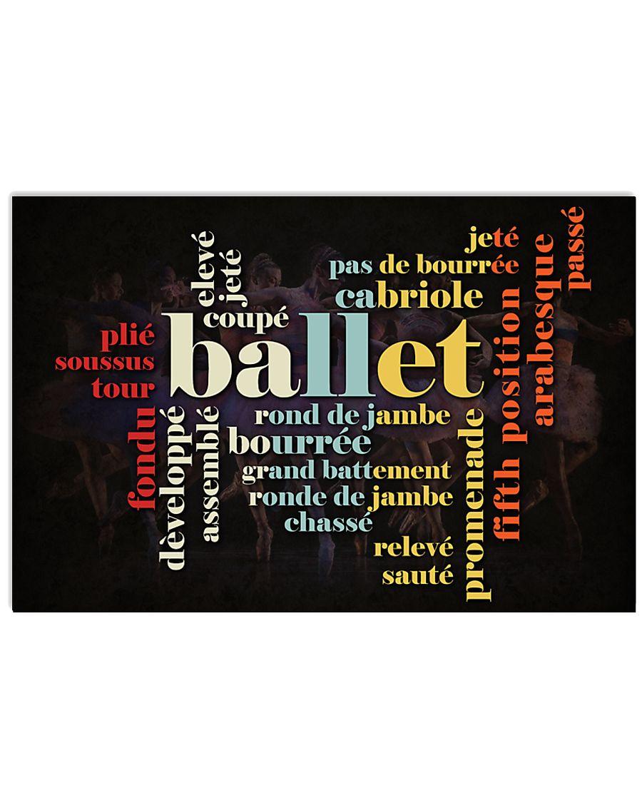 LOVE BALLET  17x11 Poster