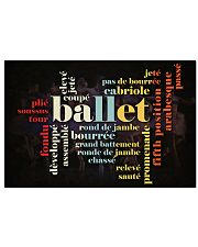 LOVE BALLET  17x11 Poster front