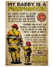 MY DADDY IS A FIREFIGHTER 11x17 Poster front