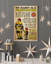 MY DADDY IS A FIREFIGHTER 11x17 Poster lifestyle-holiday-poster-1
